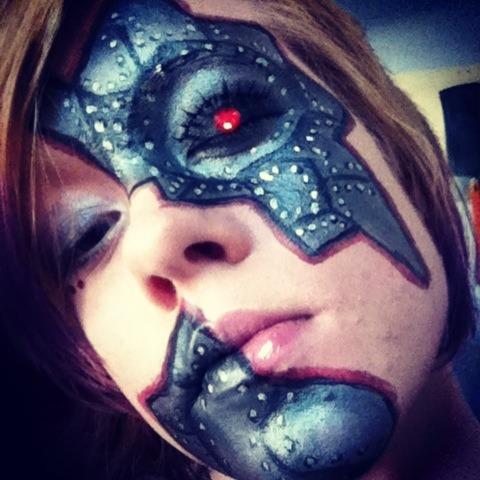 Robot Makeup Zoe Ms Manyfacesofzozo Photo Beautylish