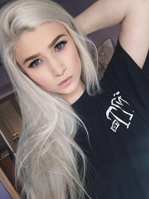 white silver hair how to beautylish
