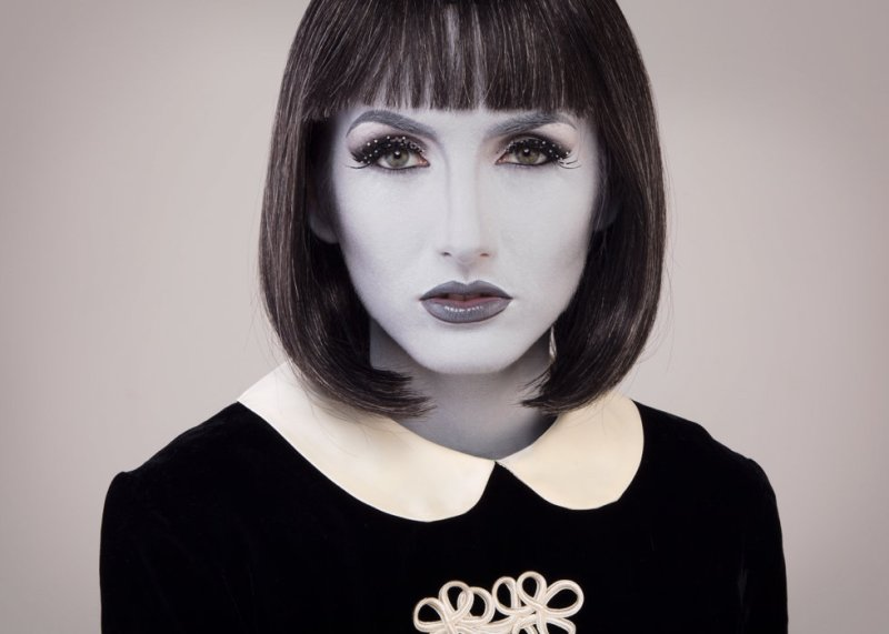 Lady Gray Grayscale Makeup You Can