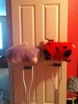 mini pillow pets on crutches online