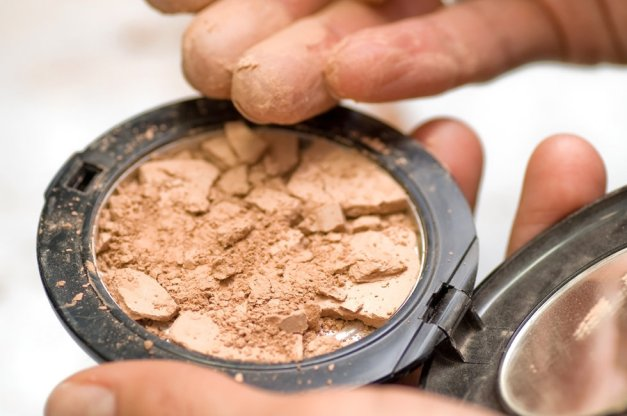 Image result for Broken powder products