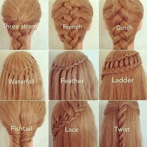 Waterfall Braid Ponytail Romantic Everyday Hairstyle
