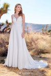 Wedding Dresses Enchanting By Mon Cheri - Wedding Dress, Casual Boho Beach Wedding Dress With Side Slit Sophia Tolli