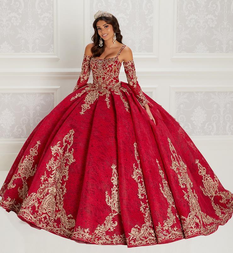 Red Quinceanera Dresses Princesa By Ariana Vara