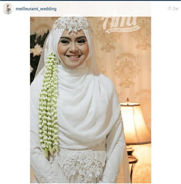 Model Jilbab Pesta Pashmina
