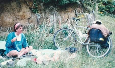 Dyana Wells, cyclist