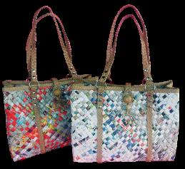 Newspaper bags - Dyaryo Bags for Life by Luzviminda Madriñan - Caroline