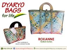 hand bag, newspaper bag, dyaryo bag, grocery bag, fashion bag, recycle bag - Dyaryo Bags for Life by Luzviminda Madriñan