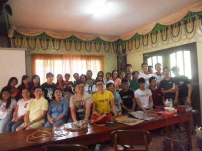 Dyaryo Bags for Life training with Bulacan State University