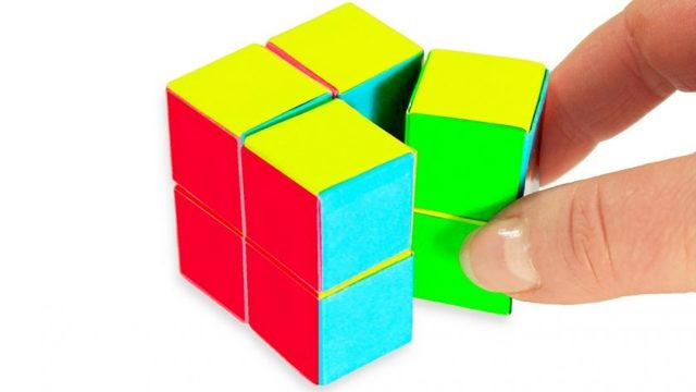 Hogyan készítsünk egy kockát a papírra: részletes útmutatás a létrehozáshoz