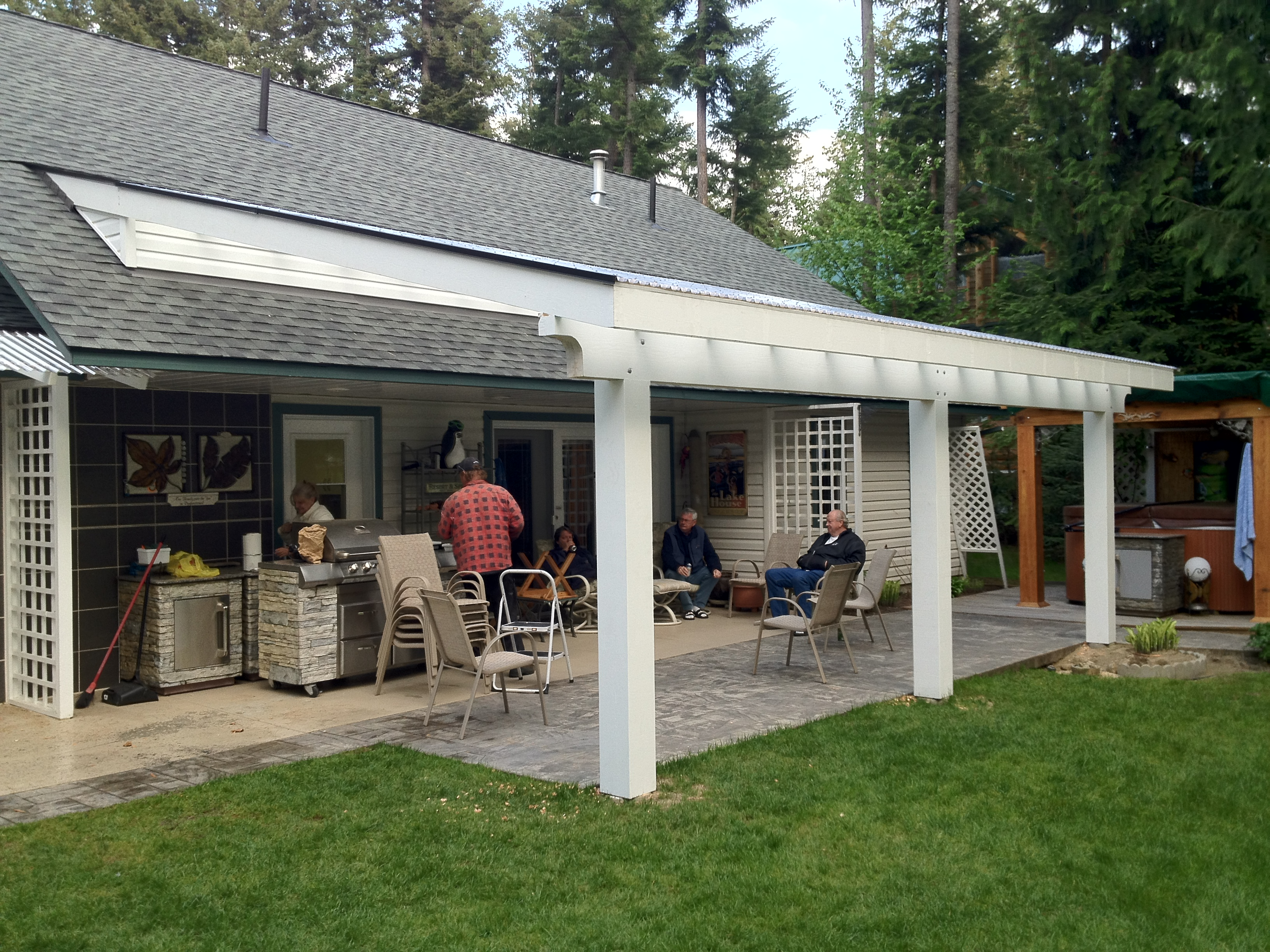 scotch creek patio extension 2012