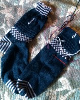 Liquorice & Nougat socks