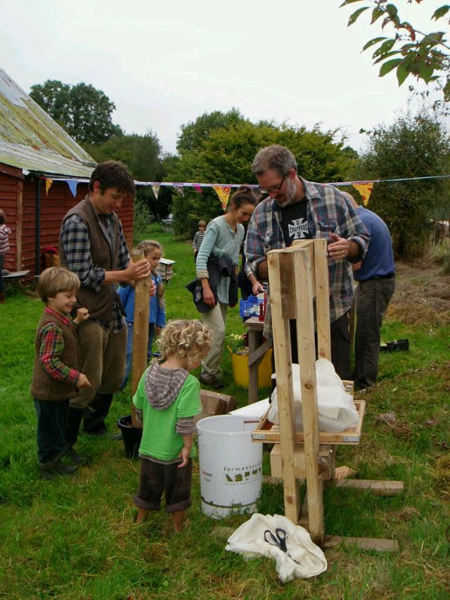 Apple pressing in full swing!