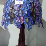 Tiffany Style Wisteria Stained Glass Table Lamp