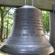 St Paul's Cemetery New York USA Bell of Hope