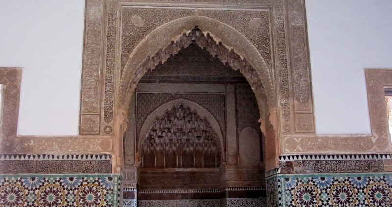 Saadian Tombs Marrakesh