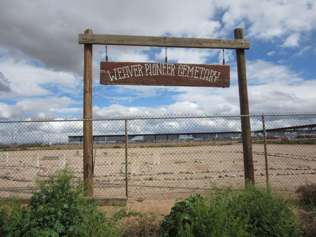 Weaver Pioneer Cemetery, Casa Grande, AZ