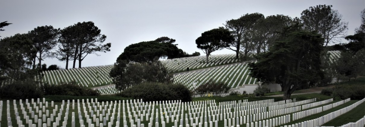 Fort Rosecrans National Cemetery San Diego