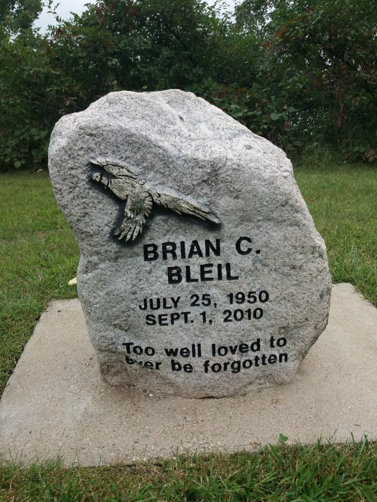 Bleil gravestone Lakeside Cemetery Balaton MN