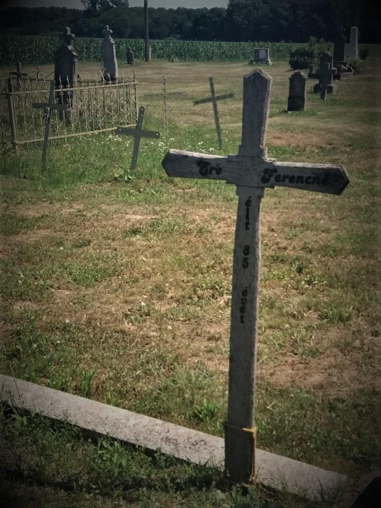 Villánykövesdi temető Villánykövesd cemetery