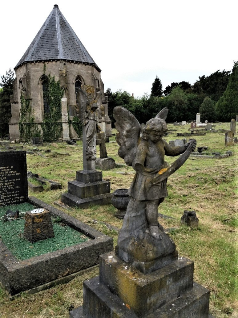 Non-conformist cemetery chapel, St Michael's Bath