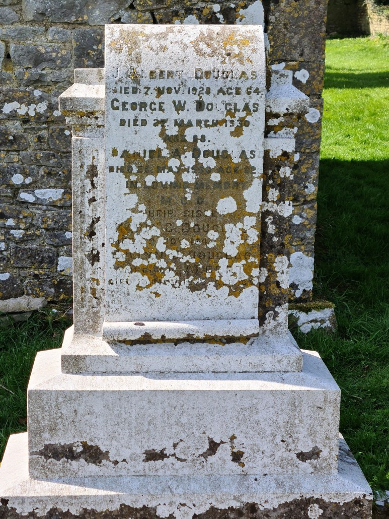 Douglas family headstone Ballinafagh Church Co Kildare