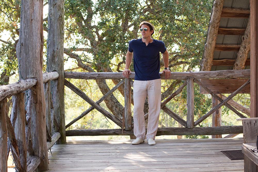 Dylan on Deck