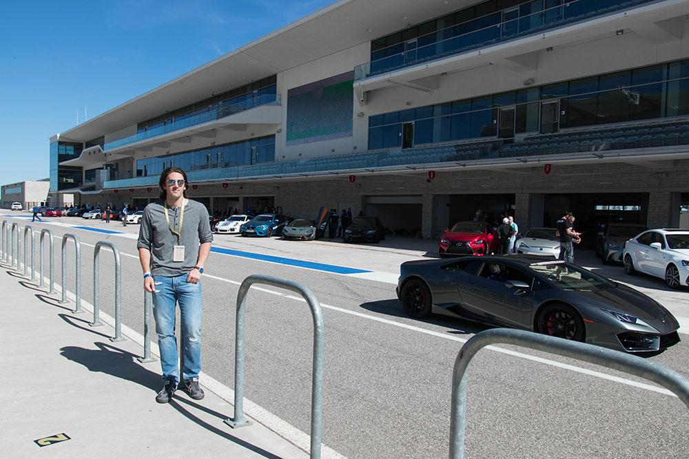 COTA F1 Track