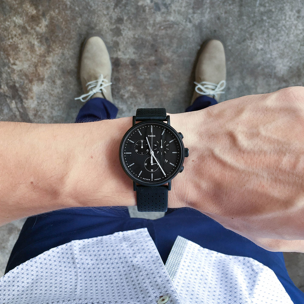 Timex Watch Black 1