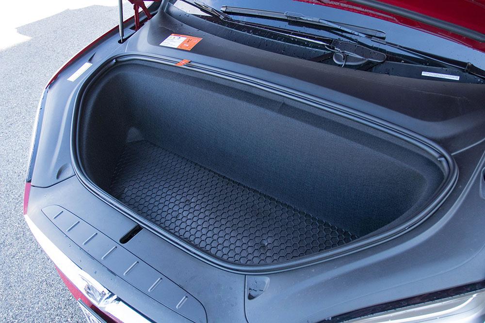 Tesla Model X Front Trunk