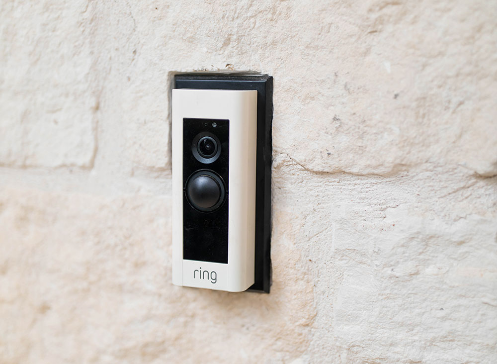 Installed Ring Doorbell Pro