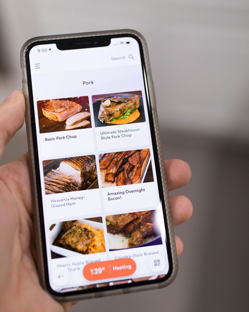Pork Recipes Joule App