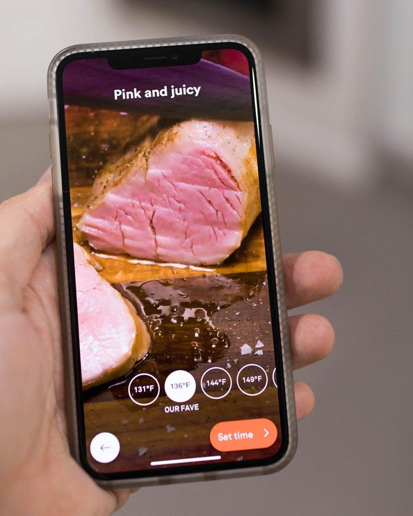 Pink and Juicy Pork Tenderloin Joule Sous Vide App