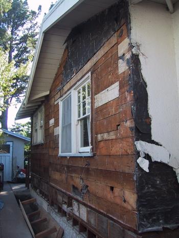 skinned house