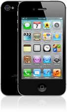 Apple iPhone 4S in black