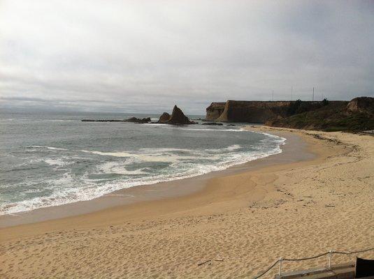 Martins Beach photo from Yelp.
