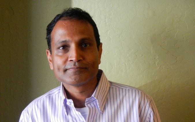 Vineet Jain, the CEO and founder of Egnyte.
