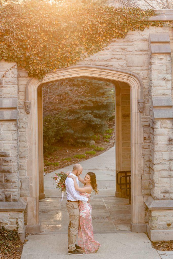 Western University Styled Engagement Photos