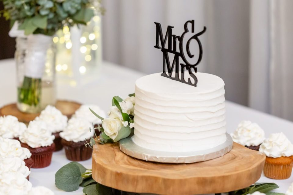 Wedding cake designed by Angelos Market London
