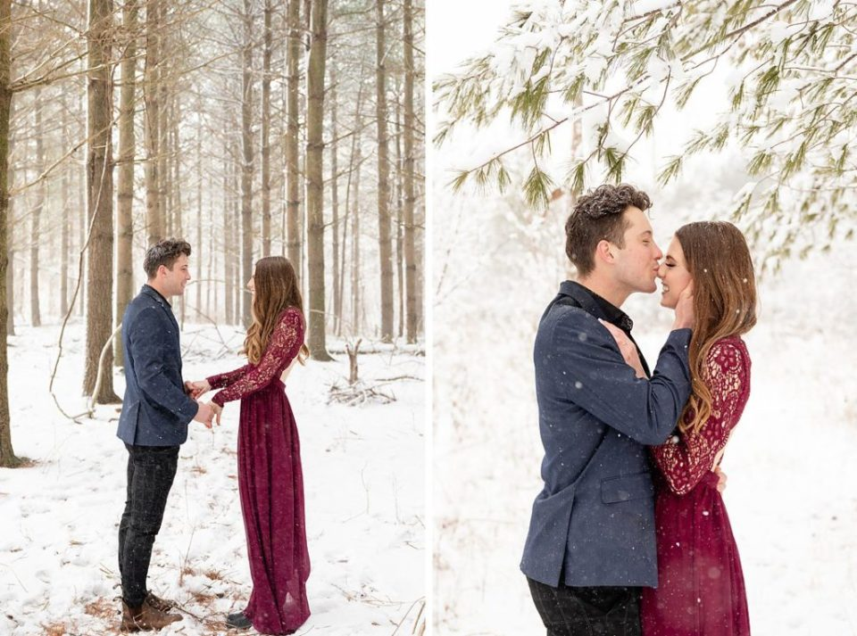 cute couples photos of man and woman holding hands and kissing