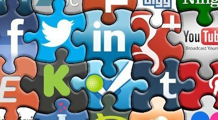 SMM-Jigsaw-Banner from greyweed on flickr. Build a business with social media marketing.