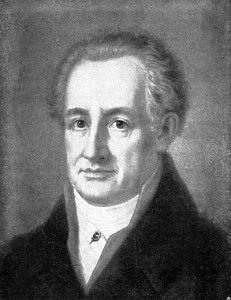Johann von Goethe was a writer and statesman who lived in the late 1700s and early 1800s
