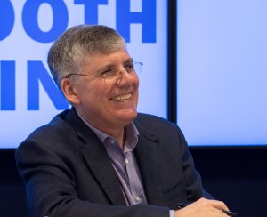 Rick Riordan is an American author who wrote the Percy Jackson & the Olympians series. 30 million copies of his books have been sold in 42 languages. Photo by Rhododendrites - Own work, CC BY-SA 4.0, https://commons.wikimedia.org/w/index.php?curid=69689009