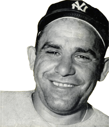 Yogi Berra By Unknown - Baseball Digest, front cover, September 1956 issue. [1], Public Domain, https://commons.wikimedia.org/w/index.php?curid=15346062