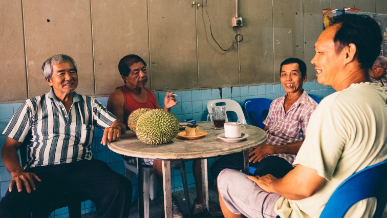 Durian and White Coffee - Penang Editorial Photographer
