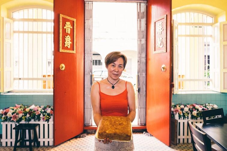 Durian Cake - Penang Editorial Photographer