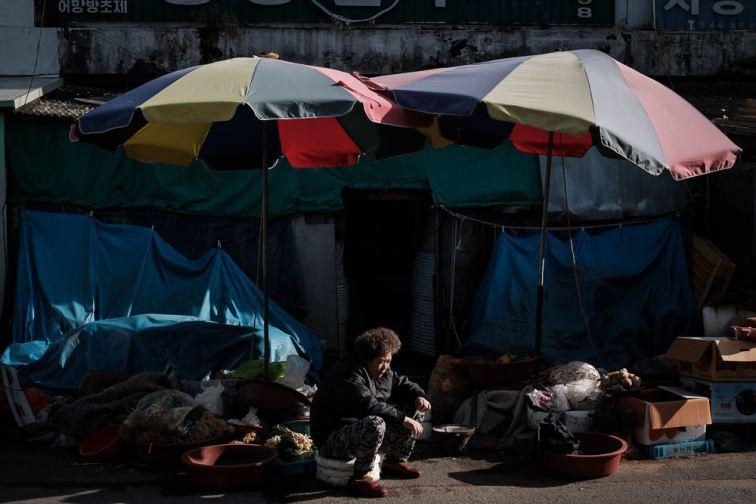 Market Lady - Tongyeong, South Korea