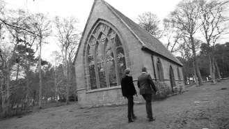 The setting is in a isolated church in an unknown location. This is a typical place where gangsters would commit illegal activities (e.g. drug dealing) so that it is harder for them to be caught by authorities. The setting choice also gave us alot of space to work with, making camera shots and different angles easier to execute.