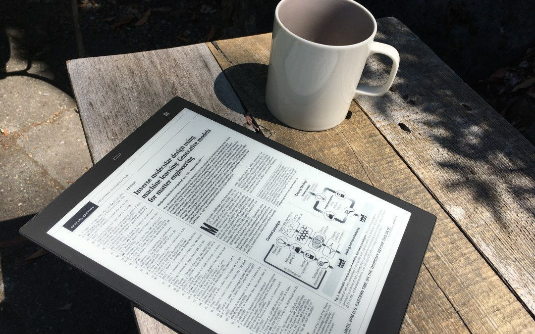 Sony's 10″ Digital Paper Tablet is an ultra-light reading companion that needs to do more
