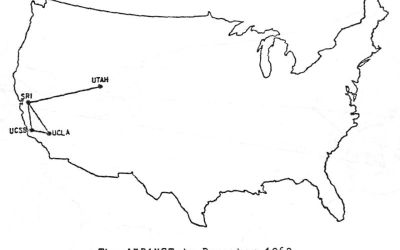50 years ago today, the Internet was born. Sort of.